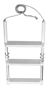 3-step boat ladder